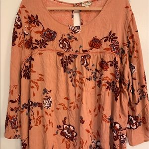Lovely blouse for fall colors